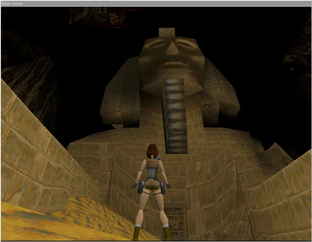 Glidos High Quality Graphics For Tomb Raider I